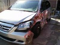 2005 honda odyssey salvage damaged vehicle for sale left side damage. Black Bedroom Furniture Sets. Home Design Ideas