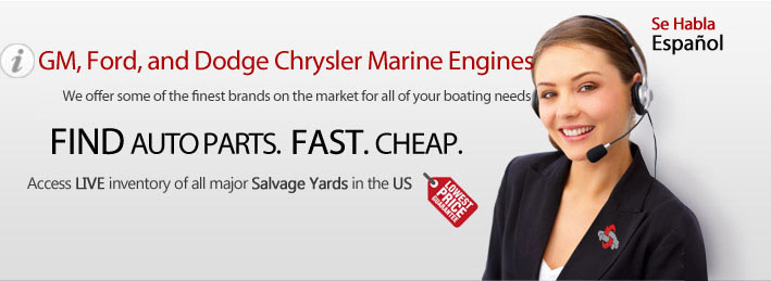 GM, Ford, and Dodge Chrysler Marine Engines. We offer some of the finest brands on the market for all of your boating needs