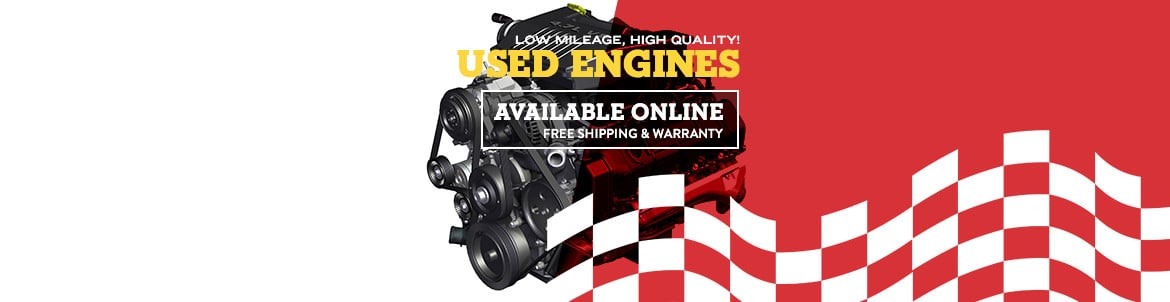 Used Engines For Sale | Get Your Engine Cheap & Fast at Automotix®