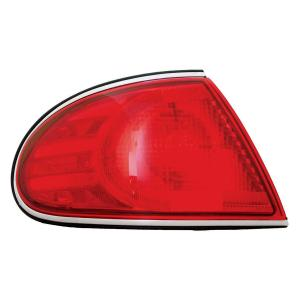 2005 Buick Le Sabre Tail Lamp Lens & Housing, Driver Side