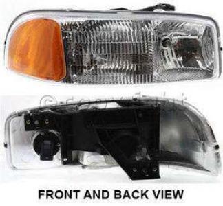 2005 gmc sierra 2500 hd headlight passenger side auto. Black Bedroom Furniture Sets. Home Design Ideas