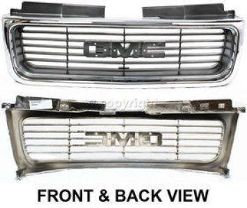 2000 gmc sonoma grille assembly auto body parts store. Black Bedroom Furniture Sets. Home Design Ideas