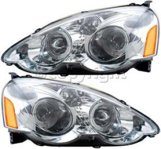 Acura  Parts on 2004 Acura Rsx Headlight  Driver And Passenger Side   Auto Body Parts