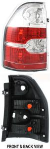 2006 Acura MDX Tail Light, Driver Side