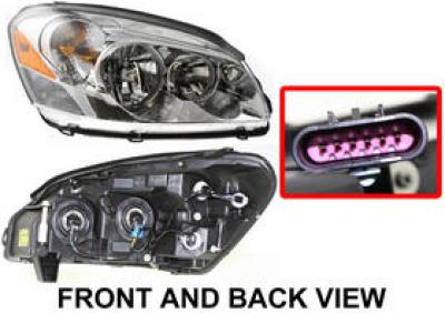 2006 buick lucerne headlight passenger side auto body. Black Bedroom Furniture Sets. Home Design Ideas