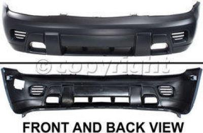 2007 Chevrolet Trailblazer Bumper Cover, Front