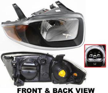 2004 chevrolet cavalier headlight passenger side auto. Black Bedroom Furniture Sets. Home Design Ideas