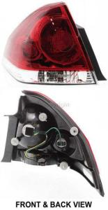 2009 Chevrolet Impala Tail Light, Driver Side