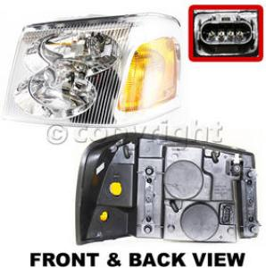 2003 gmc envoy headlight driver side auto body parts store. Black Bedroom Furniture Sets. Home Design Ideas