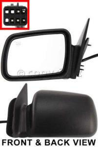 1997 Jeep Grand Cherokee Mirror, Driver Side