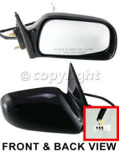 2001 Toyota Camry Mirror, Passenger Side