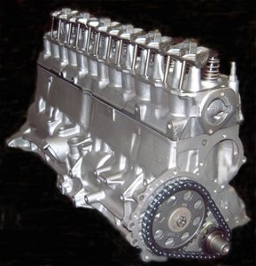 1992 Jeep Cherokee Engine Block