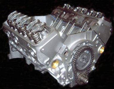 1992 Chevrolet S10 Pickup Engine Block