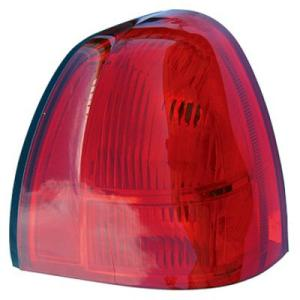 2005 Lincoln Town Car Tail Light Lens And Housing , Passenger Side