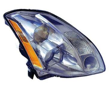 2006 Nissan Maxima Head Lamp Assembly, Passenger Side