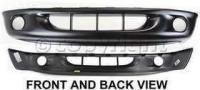 2000 Dodge Dakota Bumper Cover, Front
