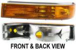 1993 Ford F-150 Turn Signal Light, Driver Side