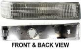 1996 Jeep Grand Cherokee Turn Signal Light, Passenger Side