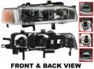 1992 Honda Accord Headlight, Passenger Side