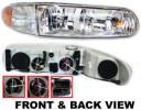 2002 Buick Century Headlight, Passenger Side