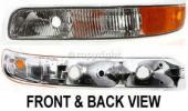2001 Chevrolet Silverado 3500 Parking Light, Driver Side