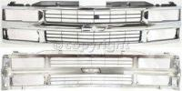 1998 Chevrolet C1500 Grille Assembly