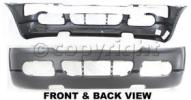 2002 Ford Explorer Bumper Cover, Front