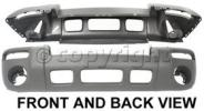 2004 Jeep Liberty Bumper Cover, Front