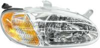 2000 KIA Sephia Headlight, Passenger Side