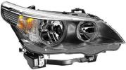 2007 BMW 5 Series Headlight Passenger Side