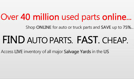 Used Auto Parts: Used Car Parts, Truck Parts, Used Engine